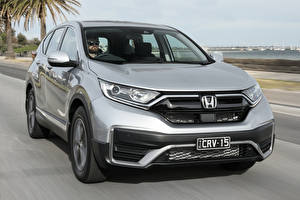 Images Honda Gray Metallic CUV Driving CR-V VTi X, AU-spec, (RW), 2020 automobile