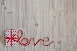 桌面壁纸,,愛,模板賀卡,字 - 題詞,英語,缎带,禮物,