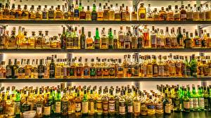 Wallpapers Many Alcoholic drink Dublin Ireland Bottle Jeffrey C. Sink, pub Food pictures images