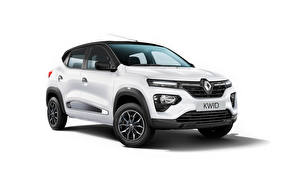 Wallpapers Renault Crossover White Metallic Kwid Ultra, ZA-spec, 2020 Cars pictures images