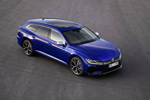 Fotos Volkswagen Blau Metallisch 2020 Arteon Shooting Brake R Worldwide Autos