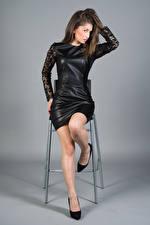 Desktop wallpapers Modelling Gown Legs Amina Girls
