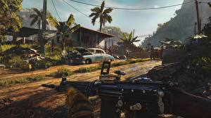 Desktop wallpapers Assault rifle Far Cry 6 vdeo game