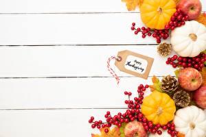 Fonds d'écran Automne Pommes Citrouille Gabarit carte de voeux Madrier Cône Nourriture images