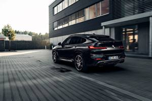 Images BMW Back view Black CUV AC Schnitzer X4 G02 Cars