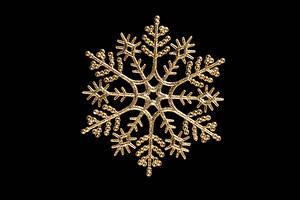Fonds d'écran Nouvel An Fond noir Flocon de neige Nourriture images