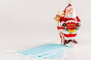 Bilder Neujahr Coronavirus Maske Hirsche Weihnachtsmann Wort Englisch