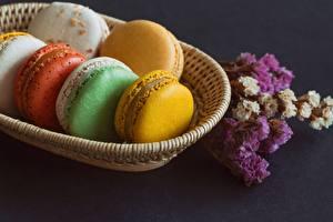 Fotos Nahaufnahme Kekse Macaron Lebensmittel