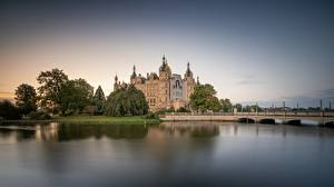 Images Germany Castle Lake Schwerin Castle, Lake Schwerin Nature
