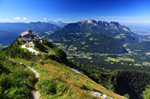 Pictures Germany Mountain Bavaria Alps Obersalzberg Nature