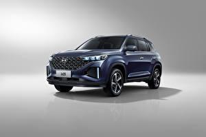 Bilder Hyundai Crossover Metallisch Hyundai ix35, China, 2020
