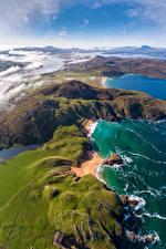 Fondos de escritorio Irlanda Costa Desde arriba Donegal, Melmore Naturaleza