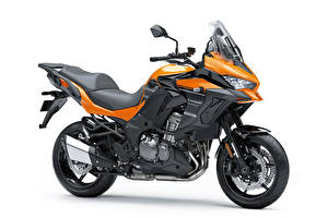 Images Kawasaki Side White background Versys 1000 SE LT, 2018 - -