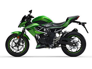 Picture Kawasaki Green Side Z125, EU-spec, 2018 --