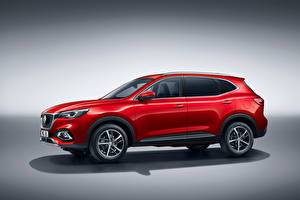 Pictures CUV Red Metallic Hybrid vehicle MG EHS Plug-in Hybrid, EU-spec, 2020 automobile