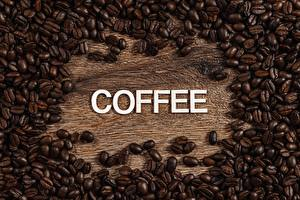 Pictures Many Coffee Grain Word - Lettering English