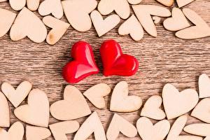 Papel de Parede Desktop Muitas Coração Vermelho