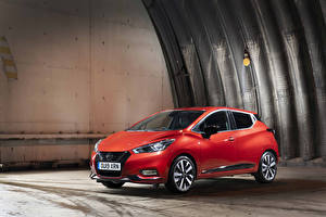 Pictures Nissan Red 2019 Micra automobile