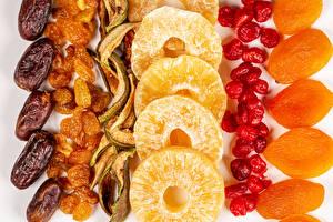 Wallpapers Raisin Orange fruit Pineapples Dried apricot Dried fruit Food