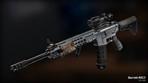 Picture Rifles Assault rifle ar 15 Army 3D_Graphics