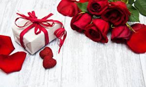 Hintergrundbilder Rose Valentinstag Geschenke Vorlage Grußkarte Blumen
