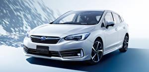 Fotos Subaru Weiß Metallisch 2019-20 Impreza Sport automobil