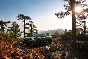 Photo Subaru Crossover Green 2020 Outback Onyx Edition XT auto