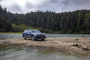 Images Subaru Crossover Blue Metallic 2020 Outback Touring automobile