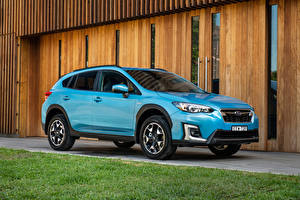 Picture Subaru Light Blue Metallic Hybrid vehicle 2020 XV Hybrid Cars