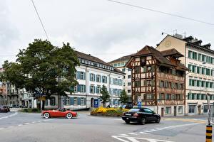 Image Switzerland Building Street Lucerne Cities