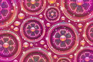 Bilder Textur Abstrakte Kunst Kreise