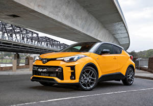 Images Toyota Crossover Yellow Metallic Hybrid vehicle C-HR Hybrid GR Sport, AU-spec, 2020 auto