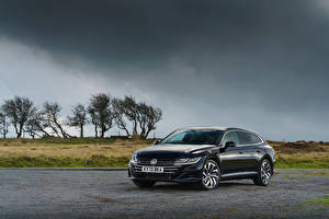 Image Volkswagen Black Metallic 2020 Arteon Shooting Brake R-Line auto