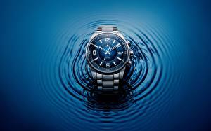 Bilder Armbanduhr Zifferblatt Hautnah Jaeger-LeCoultre Polaris Mariner