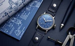 Hintergrundbilder Armbanduhr Nahaufnahme Kugelschreiber Zenith Pilot Type 20 Blueprint