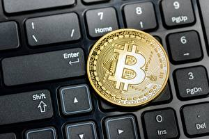 Fotos Bitcoin Tastatur