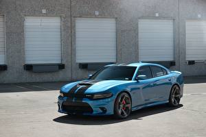 Photo Dodge Light Blue Charger SRT Performanc Bailys auto