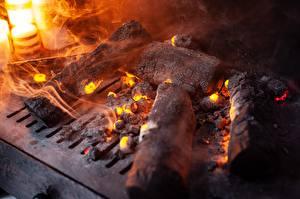 Bilder Feuer Hautnah Kamin Schwelende Kohlen