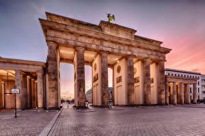 Wallpaper Germany Berlin Brandenburg Gate Cities