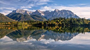 Wallpaper Germany Mountain Autumn Alps Bavaria Karwendel Nature