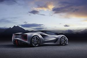 Desktop wallpapers Lotus Grey Geely, 2020, Evija auto