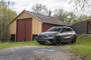 Picture Mercedes-Benz Crossover Gray 2021 GLA 250 AMG Line