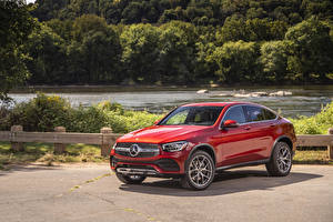 Images Mercedes-Benz CUV Coupe Red Metallic  automobile