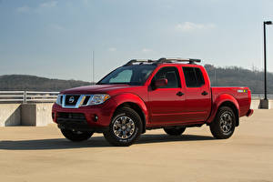 Fotos Nissan Pick-up Rot 2020 Frontier Pro-4X Crew Cab