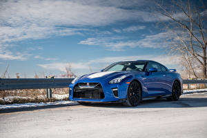 Pictures Nissan Metallic Blue 2020 GT-R 50th Anniversary auto