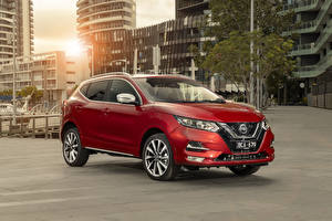 Pictures Nissan Red 2020 Qashqai N-Sport Cars