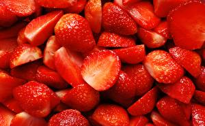 Image Strawberry Many Closeup Food