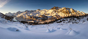 Hintergrundbilder Schweiz Berg Winter Alpen Schnee Engadin Natur
