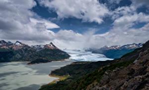 Fotos Argentinien Berg Wolke Perito Moreno Glacier, Patagonia