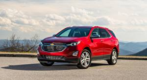 Images Chevrolet Red Crossover Equinox Premier, 2017 Cars